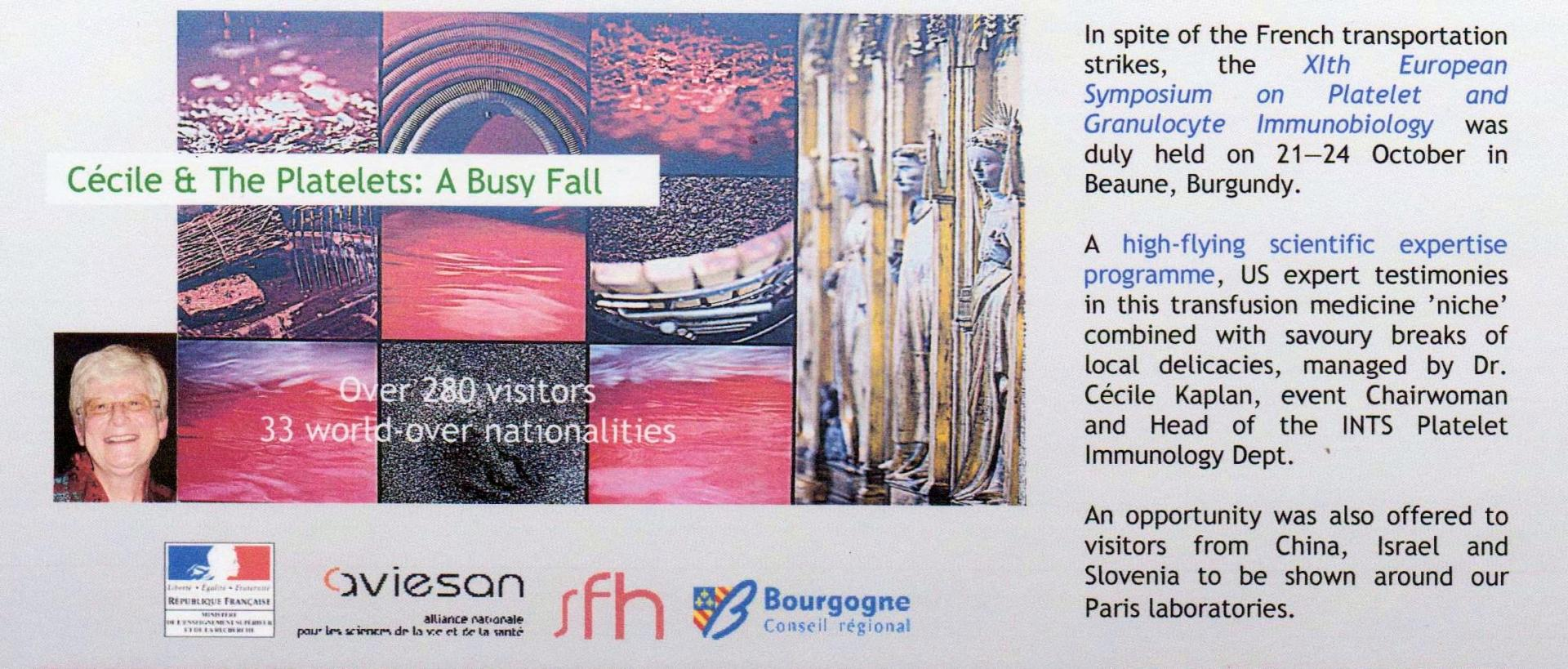 Beaune newsletter article