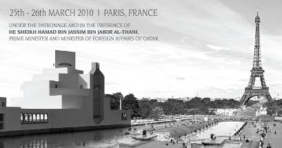 Qatar forum paris poster